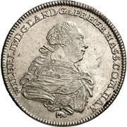 1 thaler - Wilhelm IX. (Konventionstaler) – avers