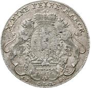 1 thaler - Wilhelm IX. (Konventionstaler) – revers