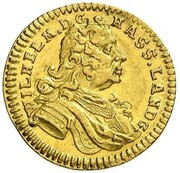 1 ducat Wilhelm VIII – avers