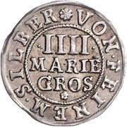 4 Mariengroschen – revers