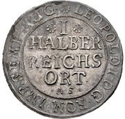 ½ Reichsort – revers