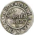 6 Mariengroschen – revers