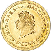 10 Thaler - Georg IV – avers