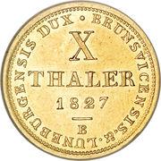 10 Thaler - Georg IV – revers