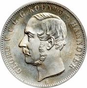 1 Thaler - Georg V – avers