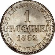 1 Groschen - Georg V – revers