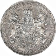2 Thaler / 3½ Gulden - Georg V – revers