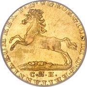 2½ Thaler - Georg III – avers