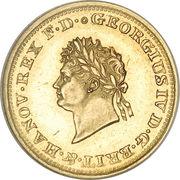 2½ Thaler - Georg IV – avers