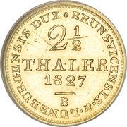 2½ Thaler - Georg IV – revers