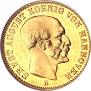 2½ Thaler - Ernst-August – avers
