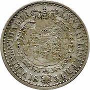 ⅙ Thaler - Wilhelm IV – revers