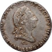 ⅔ Thaler - Georg III – avers