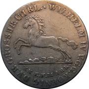 16 Gute Groschen - Wilhelm IV – avers