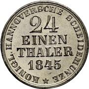 1/24 thaler Ernst August -  revers