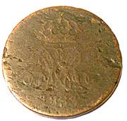 2 pfennig - William IV – avers