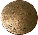 2 pfennig - William IV – revers