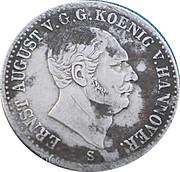 1 thaler Ernst August V. – avers