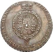 ⅔ thaler William IV – avers