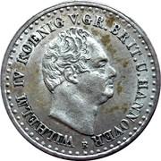 1/12 Thaler - Wilhelm IV – avers