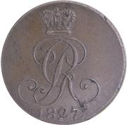 4 pfennige - Georg IV – avers