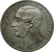 1 Vereinsthaler - Georg V (Holy Day) – avers