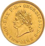 5 thaler George IV – avers