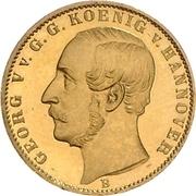 ½ Krone - Georg V – avers