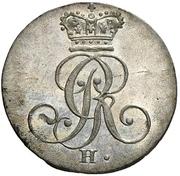 4 Pfennig - George III. – avers
