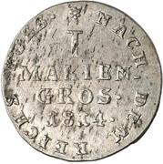 1 Mariengroschen - George III. – revers