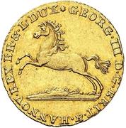 1 Ducat - George III. – avers