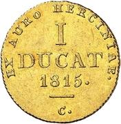 1 Ducat - George III. – revers