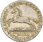 16 Gute Groschen - George IV. – avers