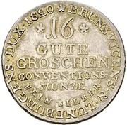 16 Gute Groschen - George IV. – revers