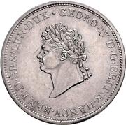 ⅔ Thaler - George IV. – avers