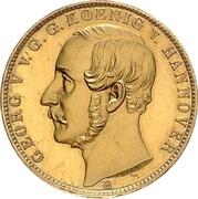 1 Krone - Georg V – avers