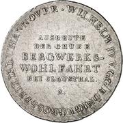 ⅔ Thaler - William IV (2/3 Ausbeutetaler) – avers