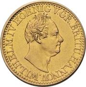 10 Thaler -William IV. – avers