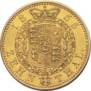 10 Thaler -William IV. – revers