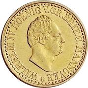 5 Thaler - William IV. – avers