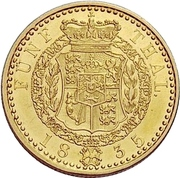 5 Thaler - William IV. – revers