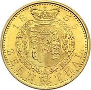 10 Thaler - William IV. – revers