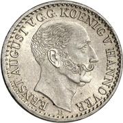 ⅙ Thaler - Ernst August – avers