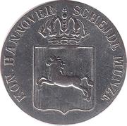 1/24 Thaler - Wilhelm IV – avers