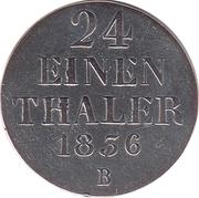 1/24 Thaler - Wilhelm IV – revers