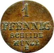 1 Pfennig - Ernst August – revers