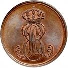 1 Pfennig - Ernst August – avers