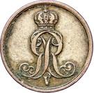 1 Pfennig - Georg V – avers