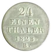 1/24 Thaler - Georg IV – revers
