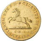 10 thaler Georg III – avers